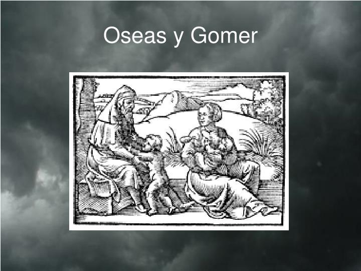 Oseas y Gomer