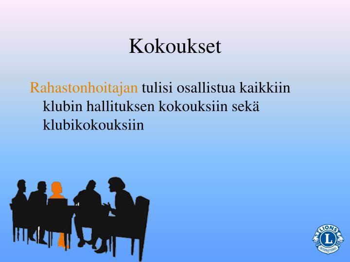 Kokoukset