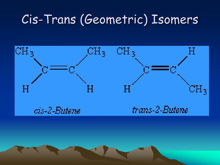 Cis-Trans (Geometric) Isomers