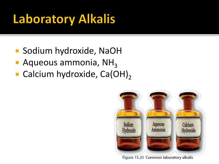 Laboratory Alkalis