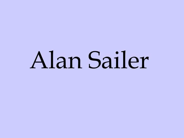 Alan Sailer