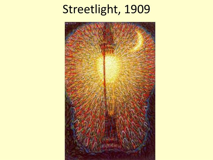 Streetlight, 1909