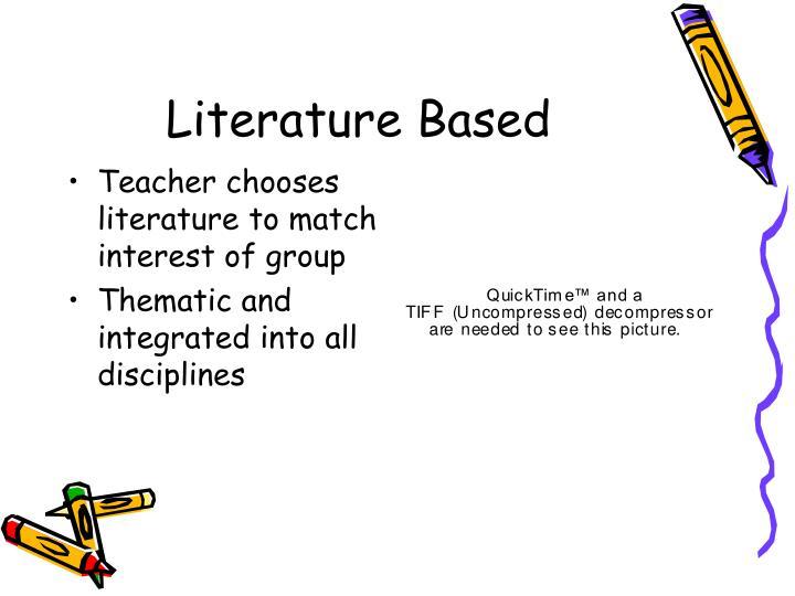 Literature Based