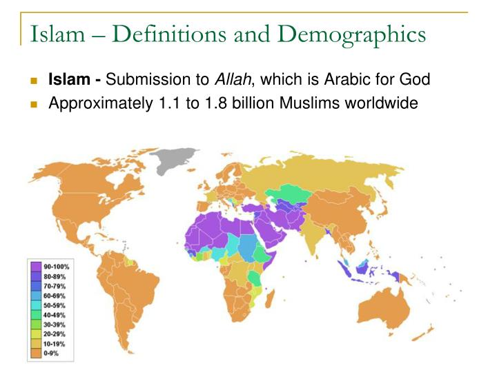 Islam – Definitions and Demographics
