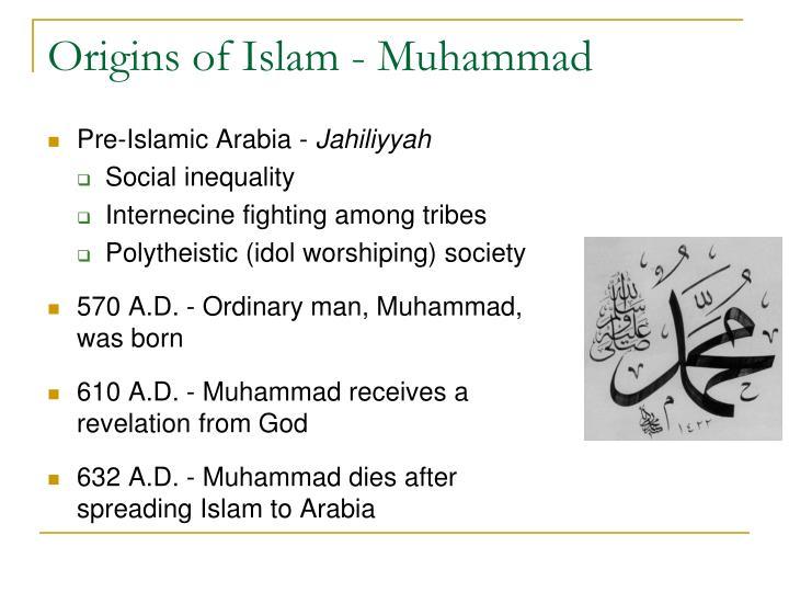 Origins of Islam - Muhammad