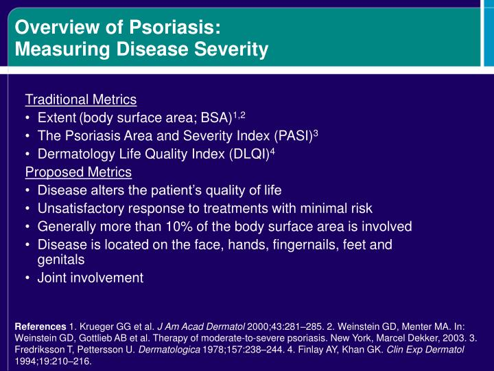 Overview of Psoriasis: