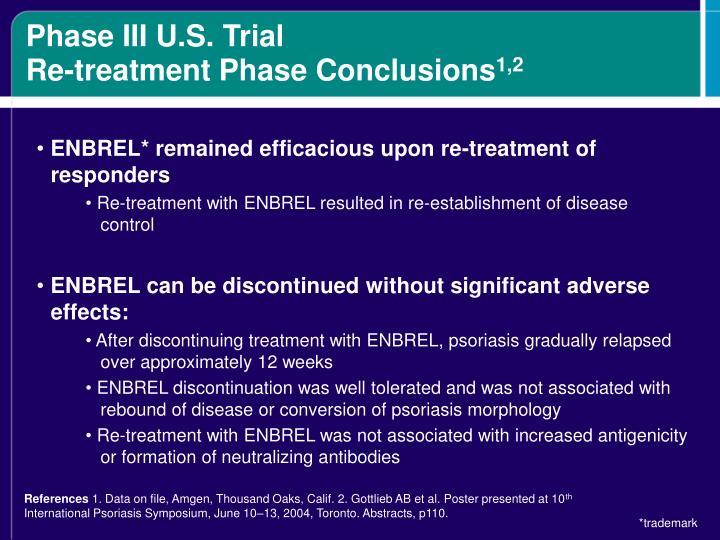 Phase III U.S. Trial