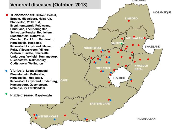 Venereal diseases (October  2013)