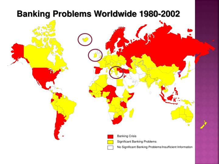 Banking Problems Worldwide 1980-2002