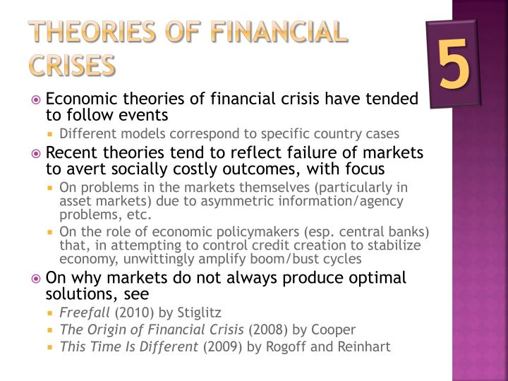 Theories of financial crises