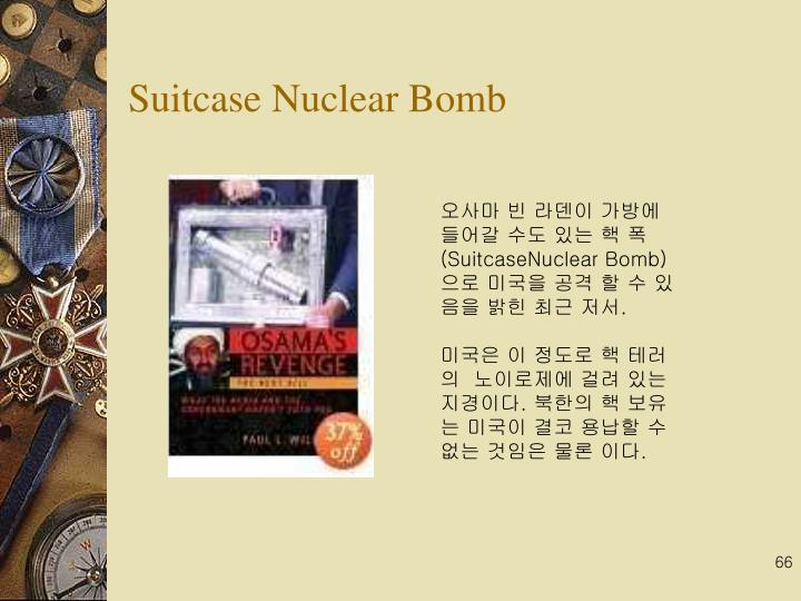 Suitcase Nuclear Bomb