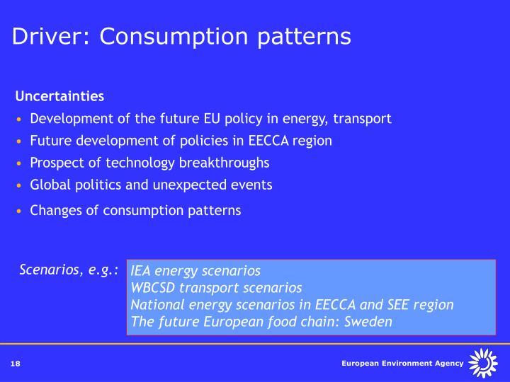 IEA energy scenarios