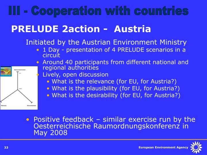 PRELUDE 2action -  Austria