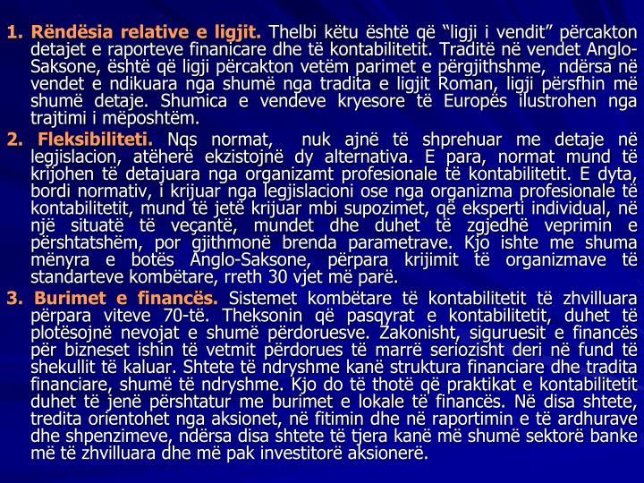 1. Rndsia relative e ligjit.