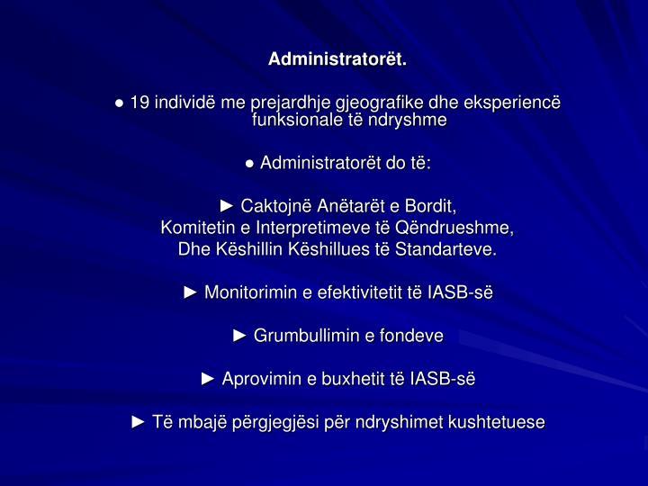 Administratort.
