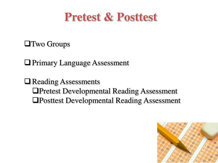 Pretest & Posttest