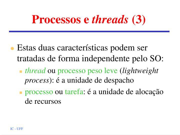 Processos e