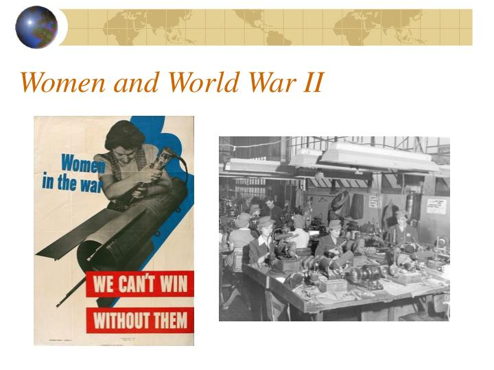 Women and World War II