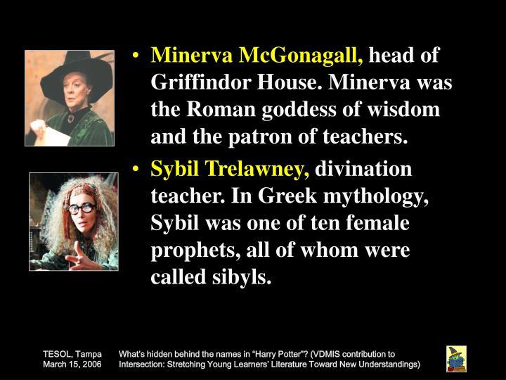 Minerva McGonagall,
