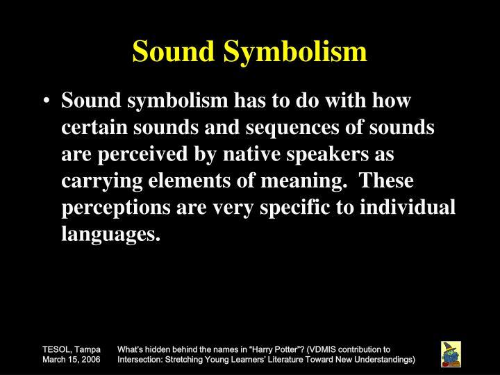 Sound Symbolism