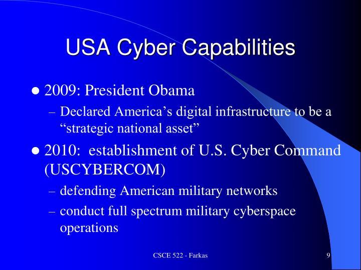 USA Cyber Capabilities