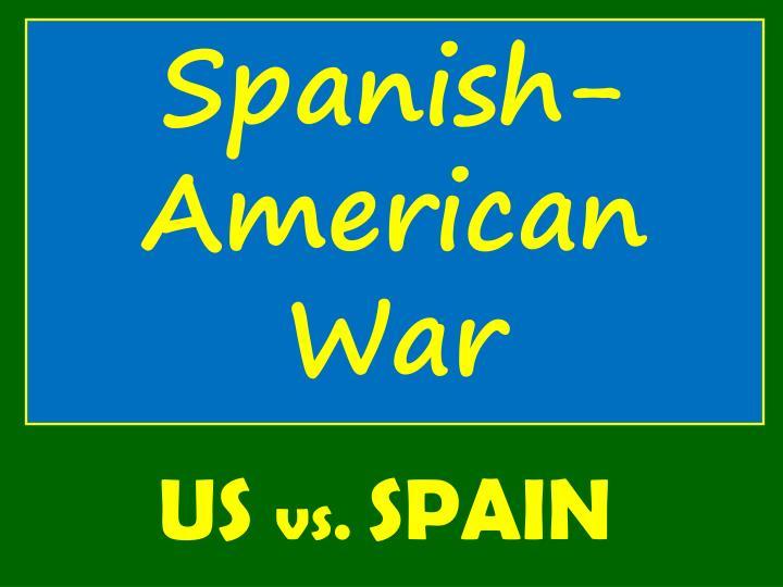 Spanish- American