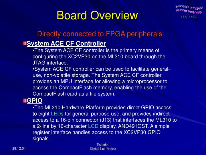 Board Overview