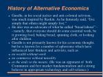 history of alternative economics10