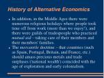history of alternative economics2