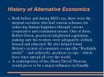 history of alternative economics6