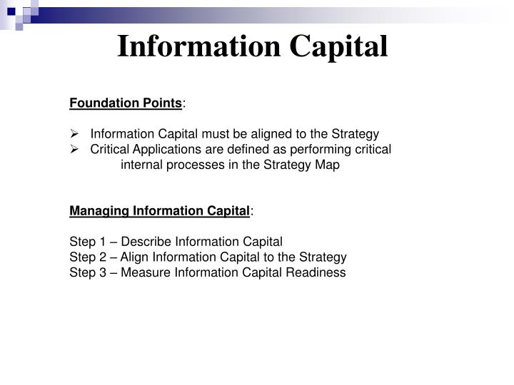 Information Capital