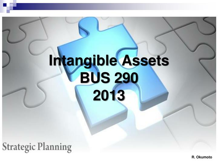 Intangible assets bus 290 2013