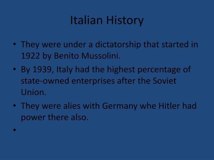Italian History