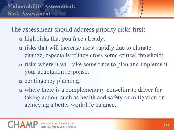 Vulnerability Assessment:
