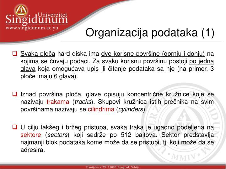 Organizacija podataka (1)