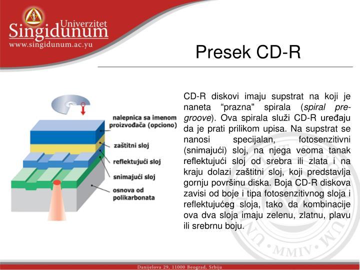 Presek CD-R
