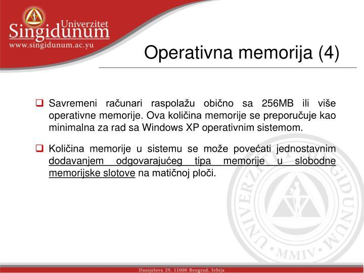 Operativna memorija (4)