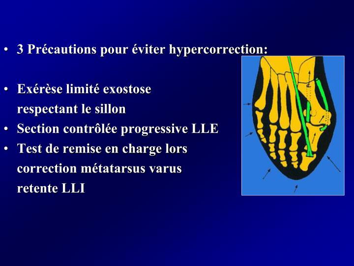 3 Précautions pour éviter hypercorrection: