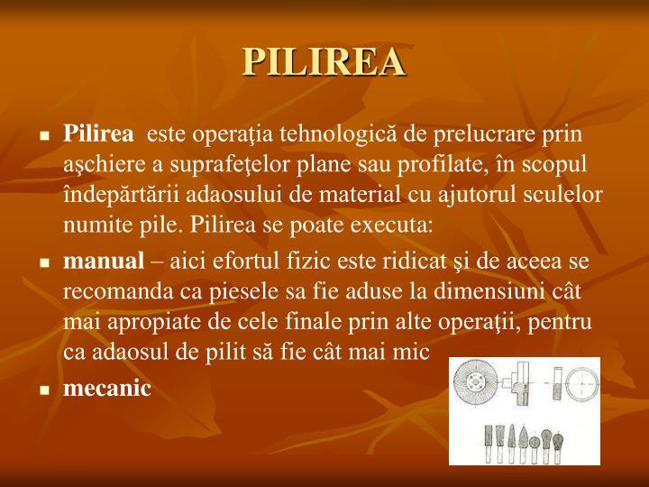 PILIREA