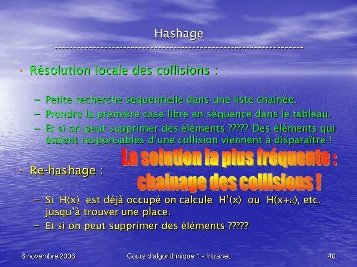Hashage