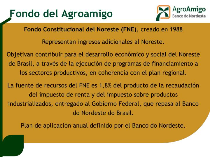 Fondo del Agroamigo
