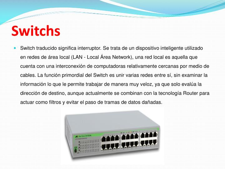 Switchs