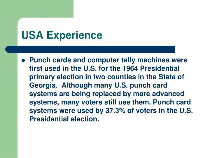 USA Experience