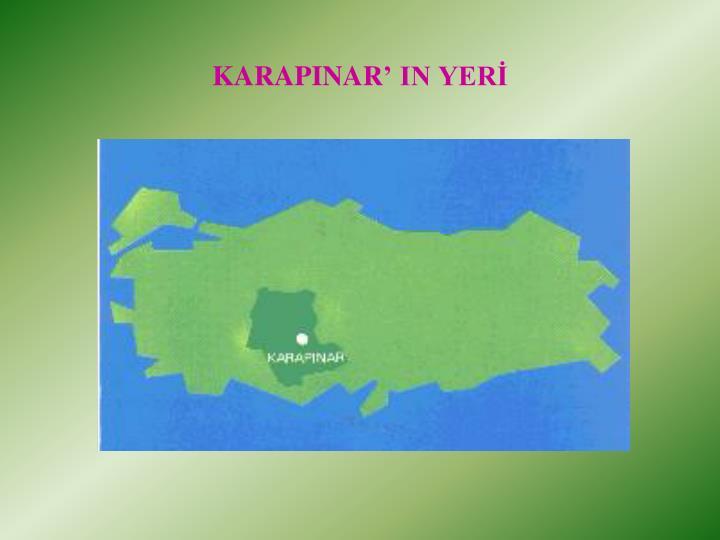 KARAPINAR