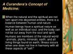 a curandera s concept of medicine