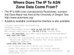 where does the ip to asn zone data come from