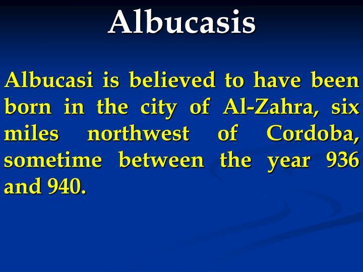 Albucasis