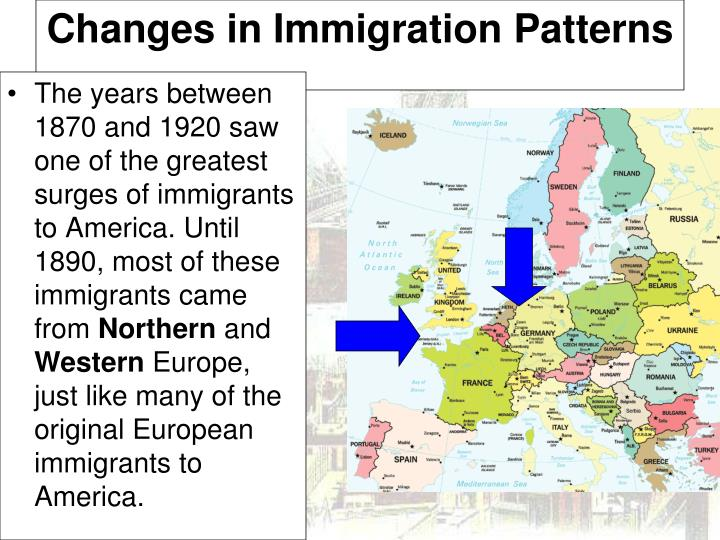 Changes in Immigration Patterns