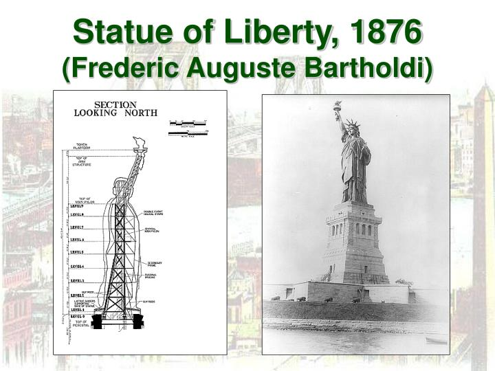 Statue of Liberty, 1876