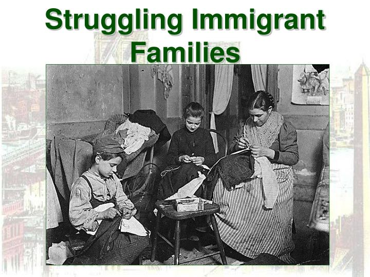 Struggling Immigrant Families